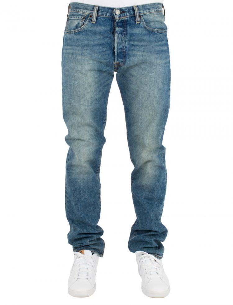 LEVIS Παντελόνι 501 LEVISORIGINAL FIT THE BEN-DARK INDIGO-WORN IN LEV00501-2333 117