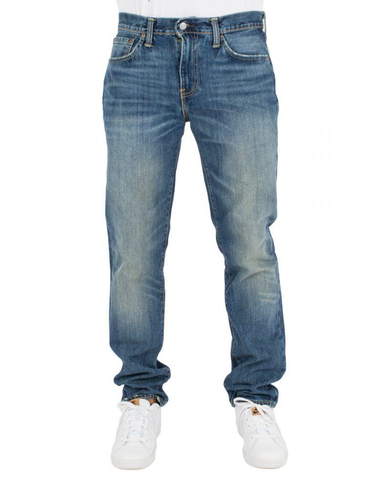 LEVIS Παντελόνι 511 SLIM FIT ROOM MATE-DARK INDIGO-WORN IN LEV04511-2134 117