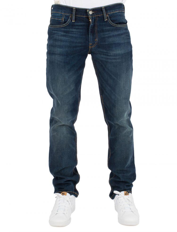 LEVIS Παντελόνι 511 SLIM FIT CROSSTOWN - DARK INDIGO - WORN IN LEV04511-2213 117