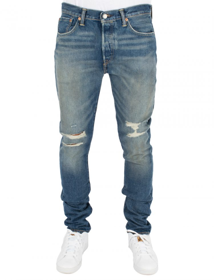 LEVIS Παντελόνι 501 SKINNY BAD BOY-MED INDIGO-WORN IN LEV34268-0006 117