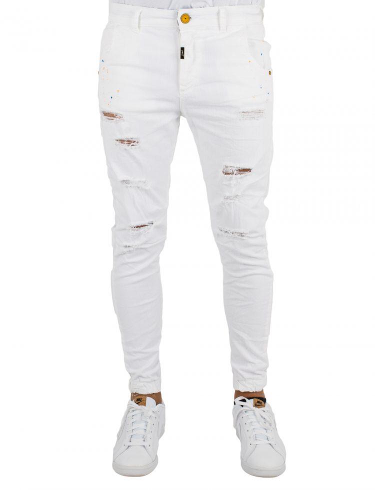 COSI Παντελόνι DENIM BALDINI 10 WHITE CO49BALDINI10 117