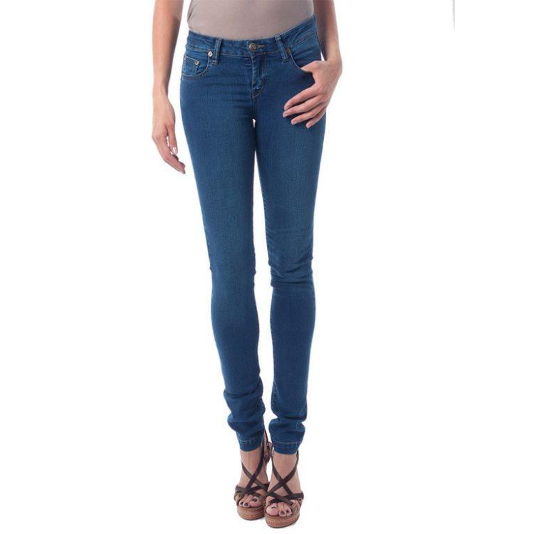 """Γυναικείο παντελόνι τζιν """"Mira Stone Washed"""" Seven L.A."""