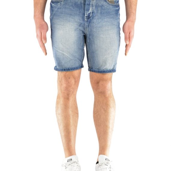 SUBLEVEL SHORT JEAN - SLIM FIT (H8518I61455KM100)