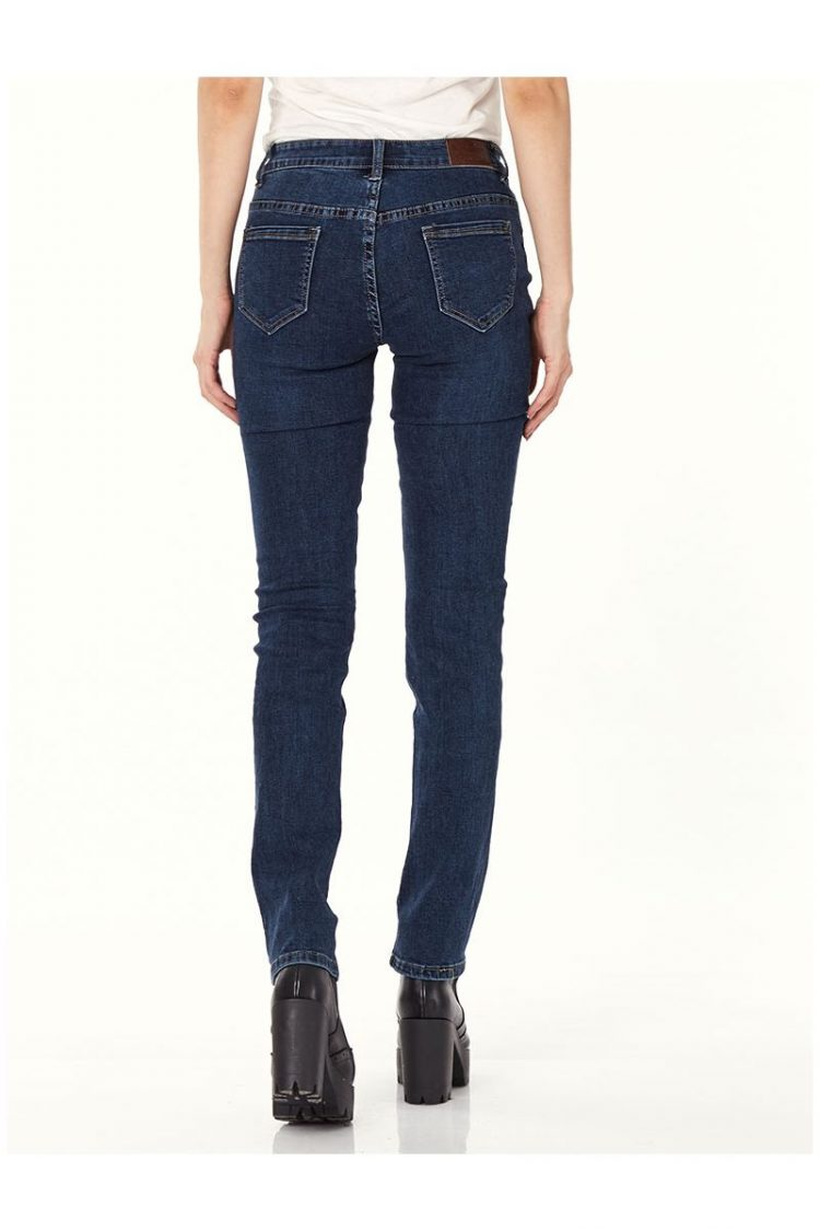 Τζιν παντελόνι σε ίσια γραμμή - Μπλε 2