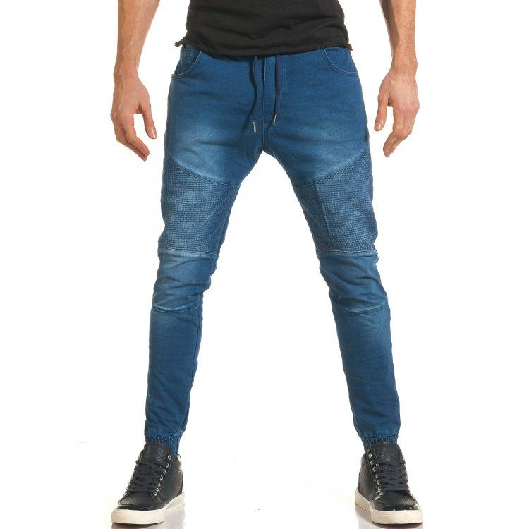 Ανδρικό γαλάζιο τζιν Flex Style