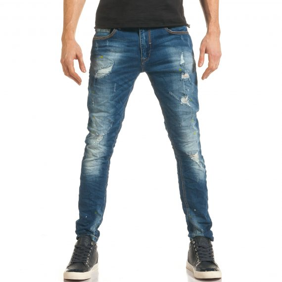 Ανδρικό γαλάζιο τζιν I Fashion