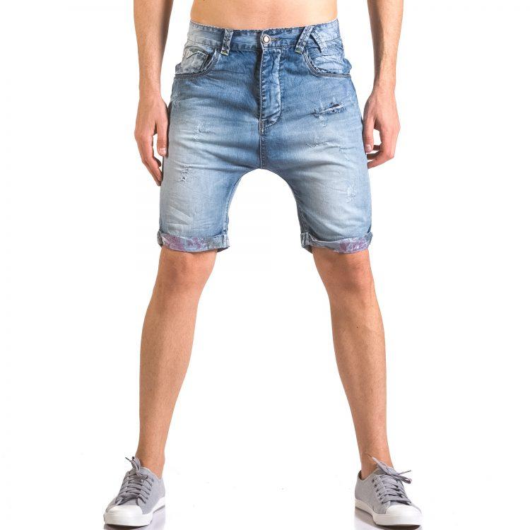 Ανδρικό γαλάζιο τζιν βερμούδα Always Jeans