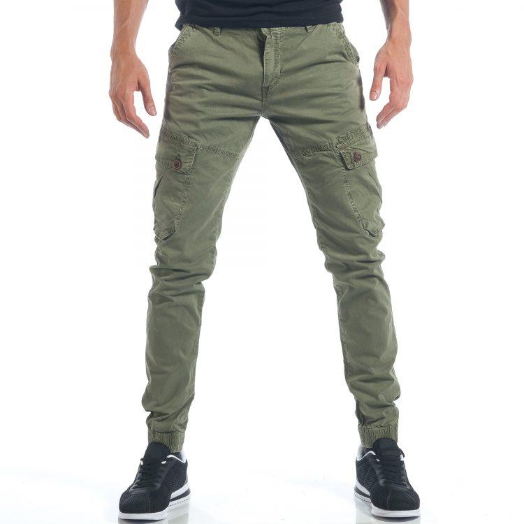 Ανδρικό πράσινο παντελόνι New Pax