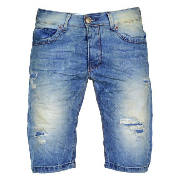Ανδρική jean βερμούδα Back2jeans MB6A