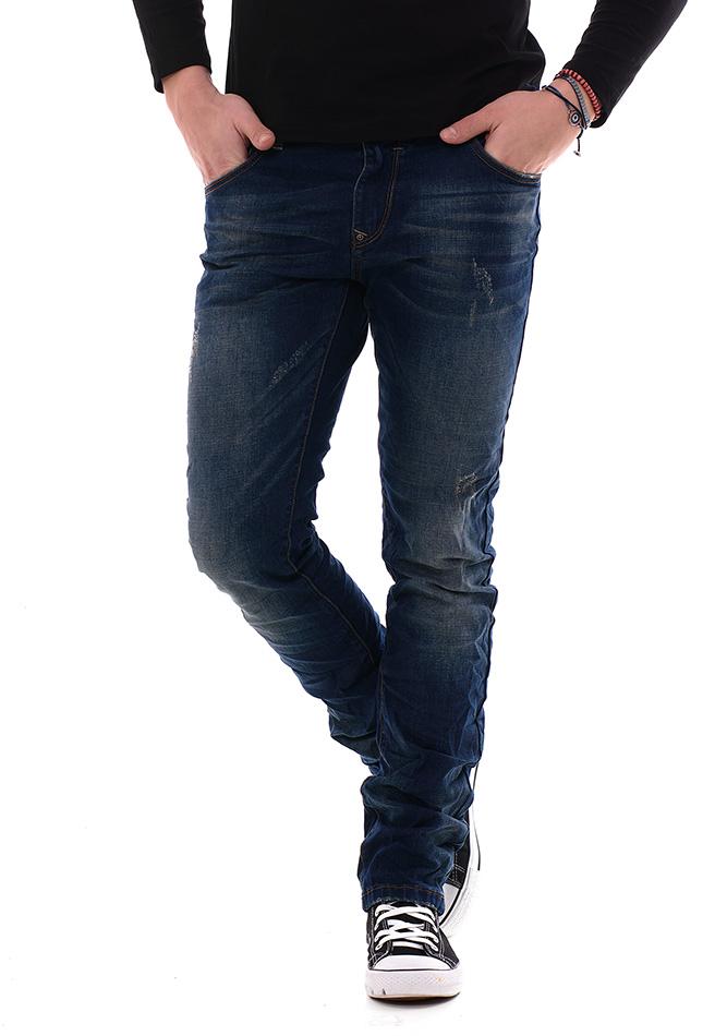 Ανδρικό Jean Παντελόνι Flex Blue