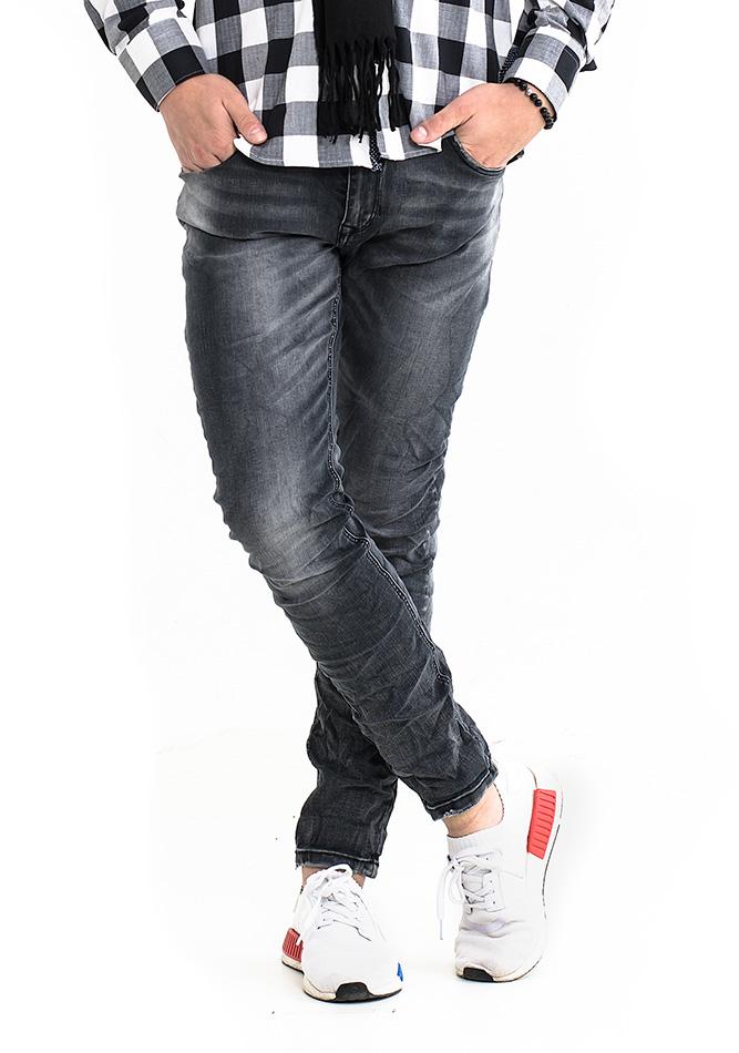 Ανδρικό Jean Fashion Grey