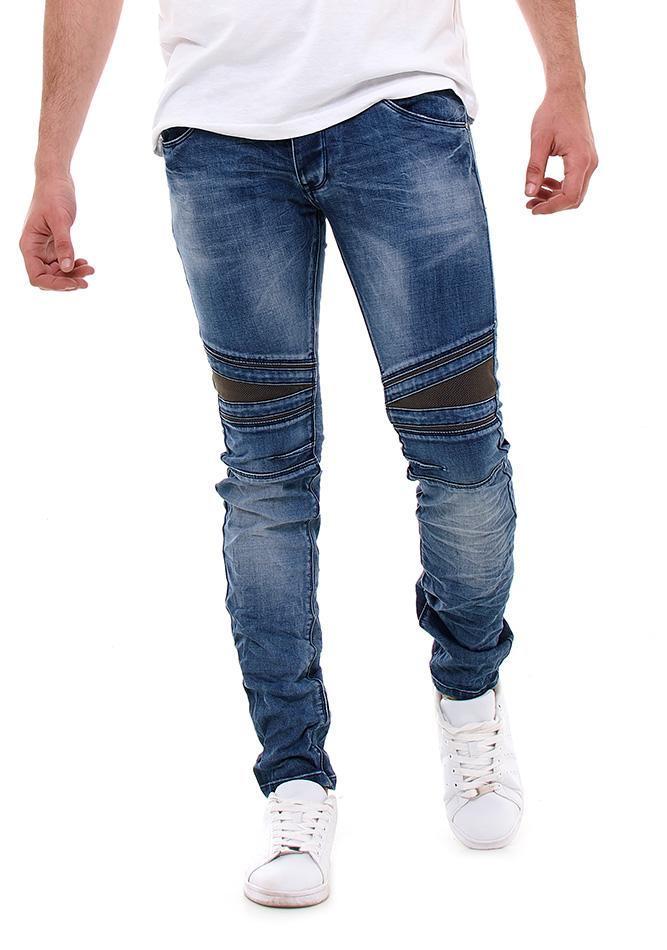 Ανδρικό Παντελόνι Jean TMK D.Blue