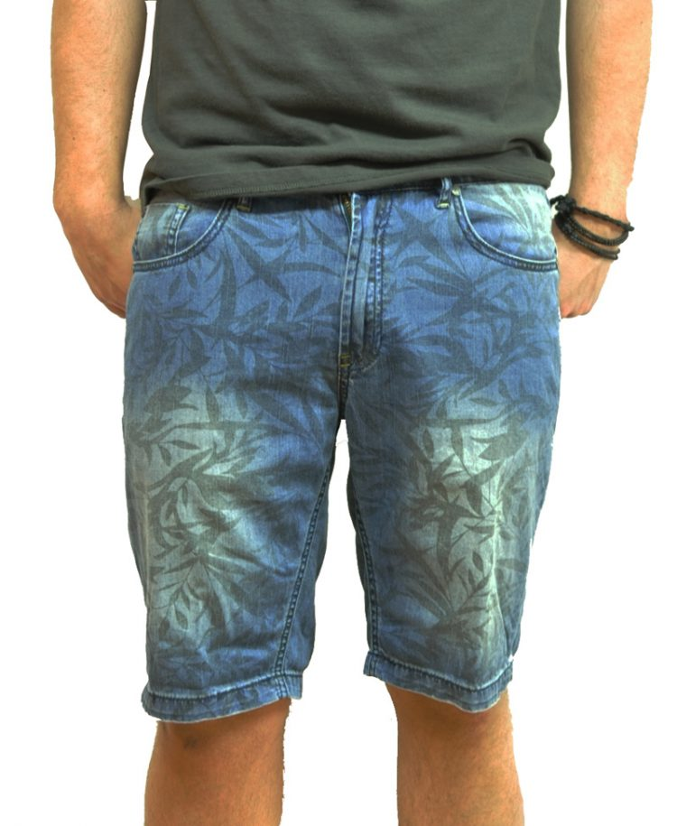Automatic Denim Shorts