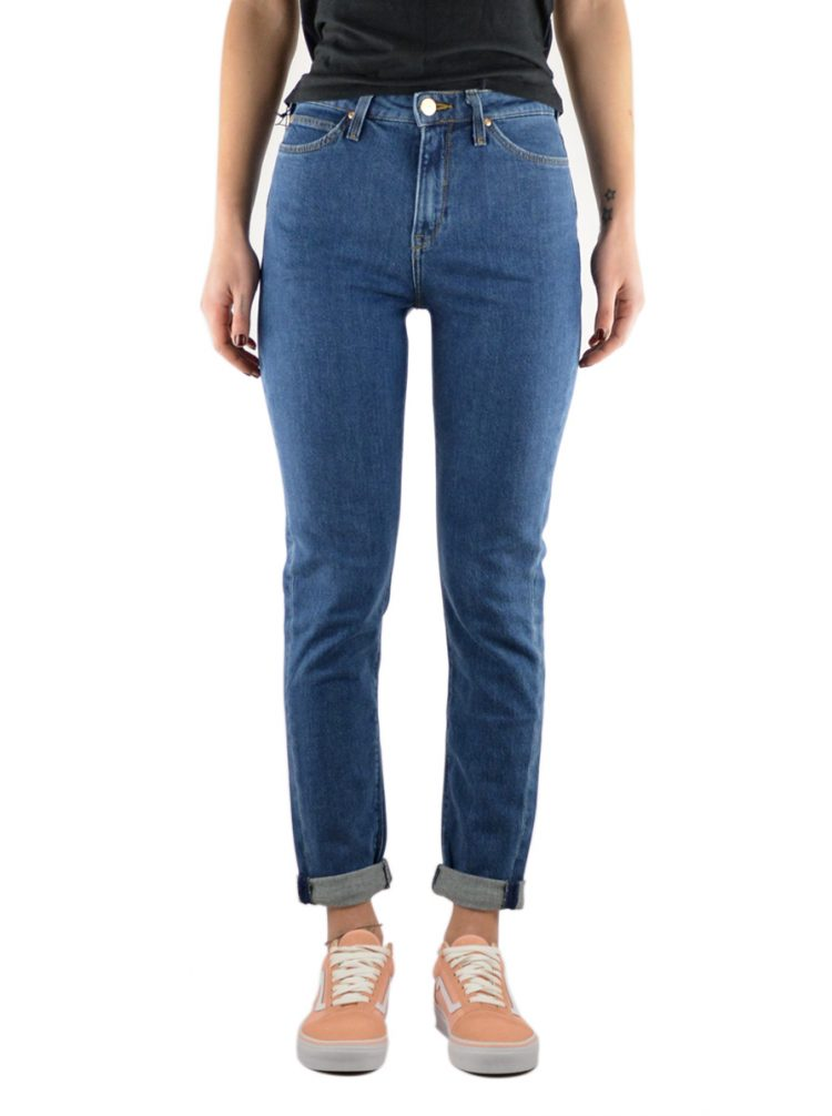 LEE JEAN MOM TAPERED - CURVED HIGH WAIST (L32FAPKW)