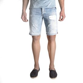 Uniform Sunny Denim Shorts (Denim)