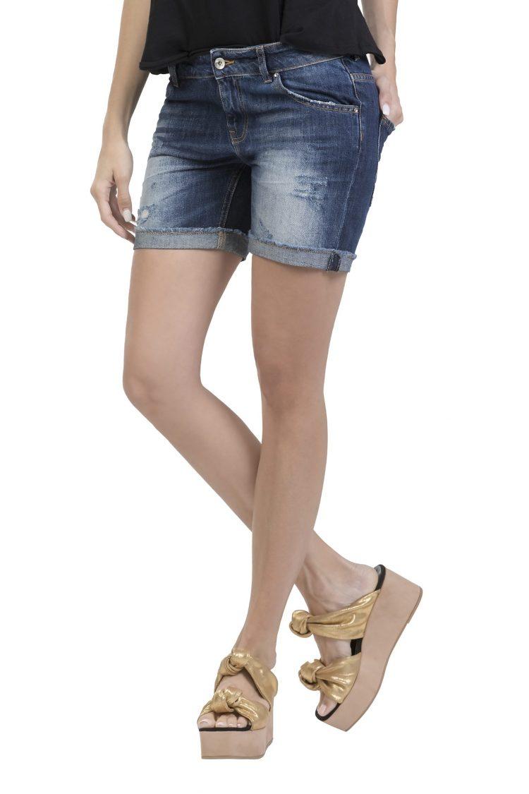 Fifty Carat Doriana Denim Shorts (Denim)