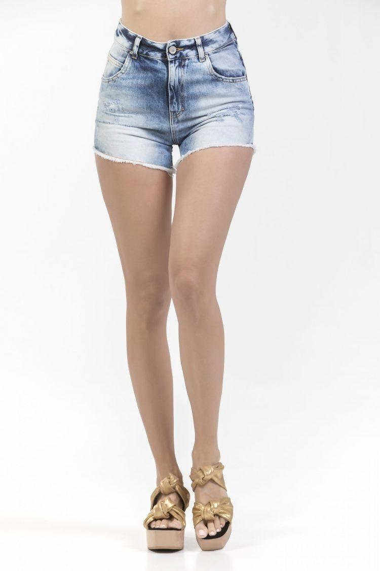 Fifty Carat Valeria Denim Shorts (Denim)