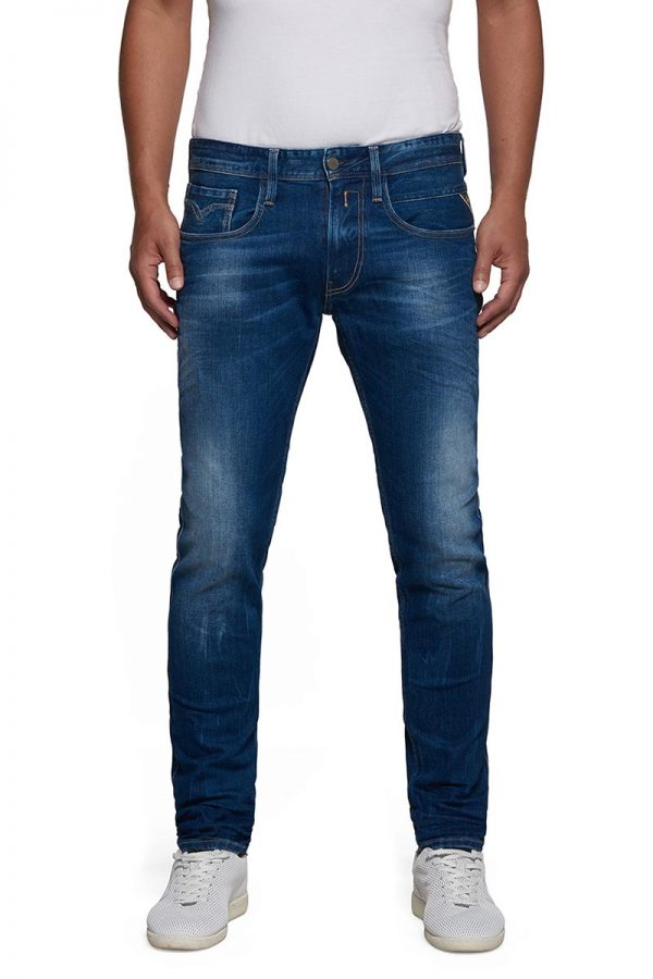 Replay ανδρικό Anbass slim fit jeans