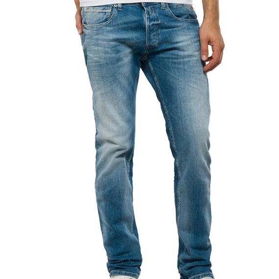 Replay ανδρικό Grover straight fit jeans