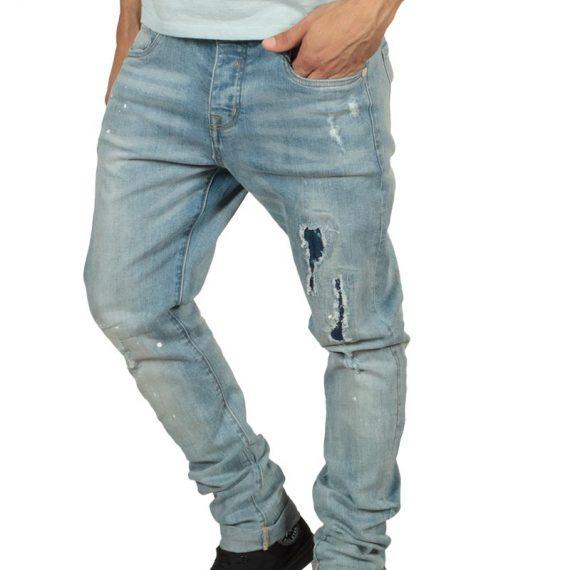Ryujee Jaso jeans με σκισίματα