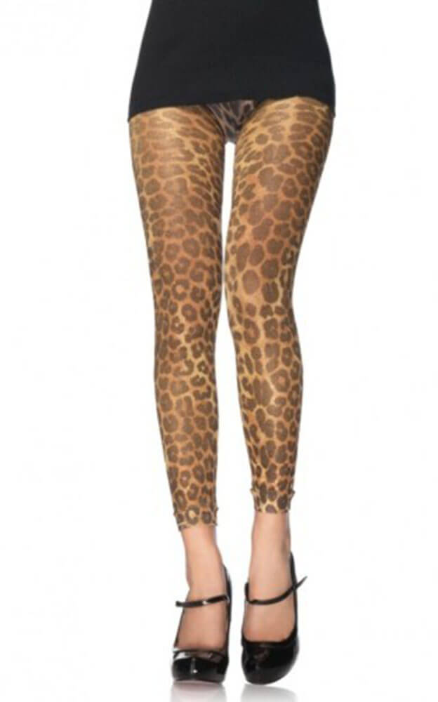 Leggings With Leopard Pattern S4F06011