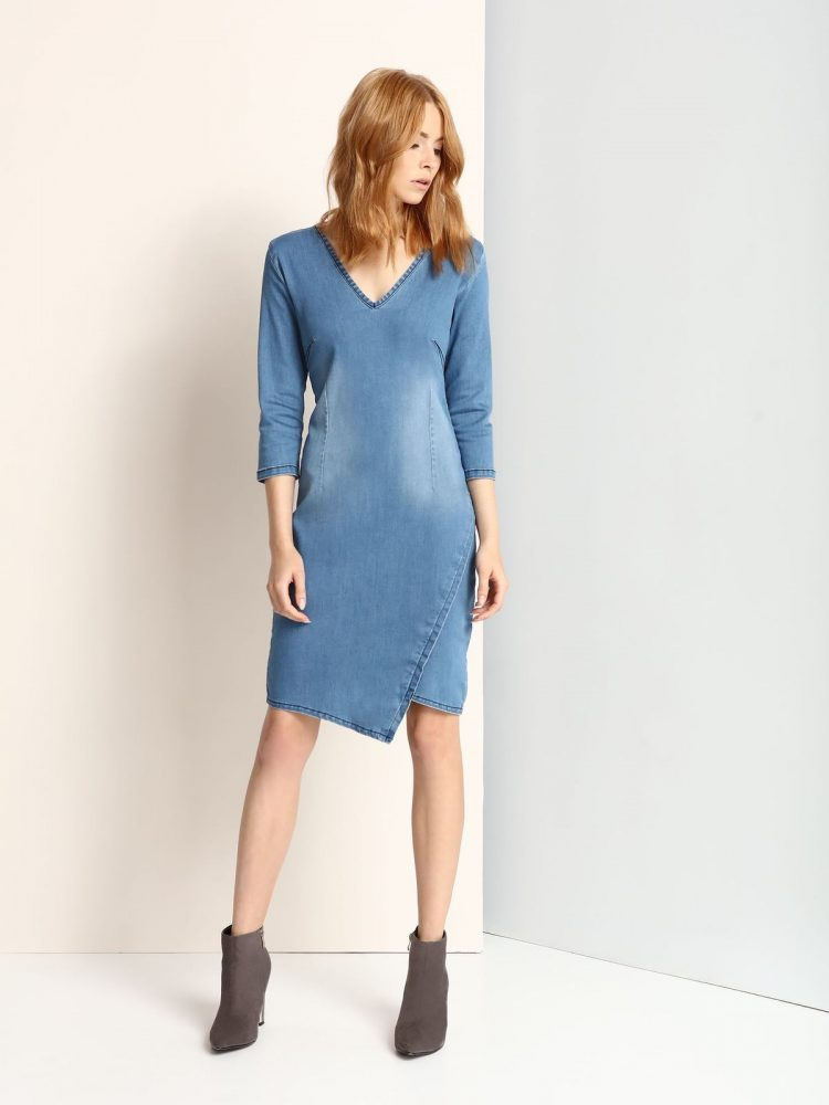 TOP SECRET τζιν casual φορεμα