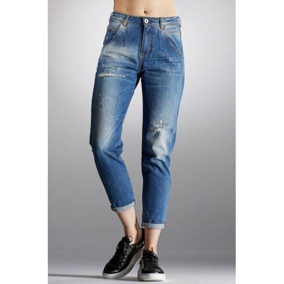 Mom's jeans ψηλόμεσο - Carrot γραμμή