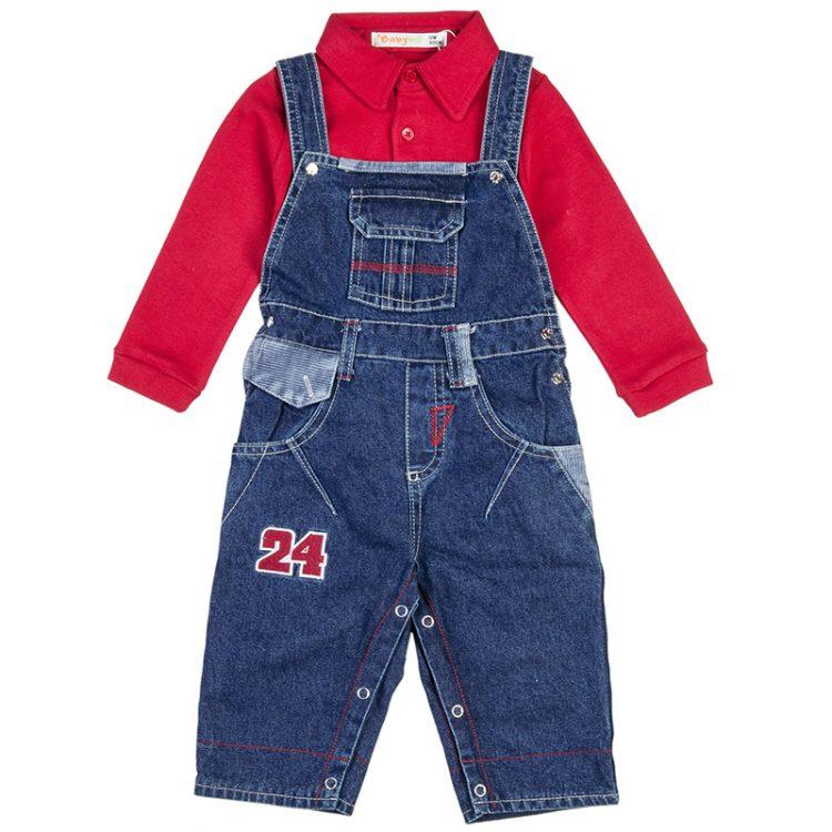 Σαλοπέτα με μπλούζα (Αγόρι 9-18 μηνών) 00470603