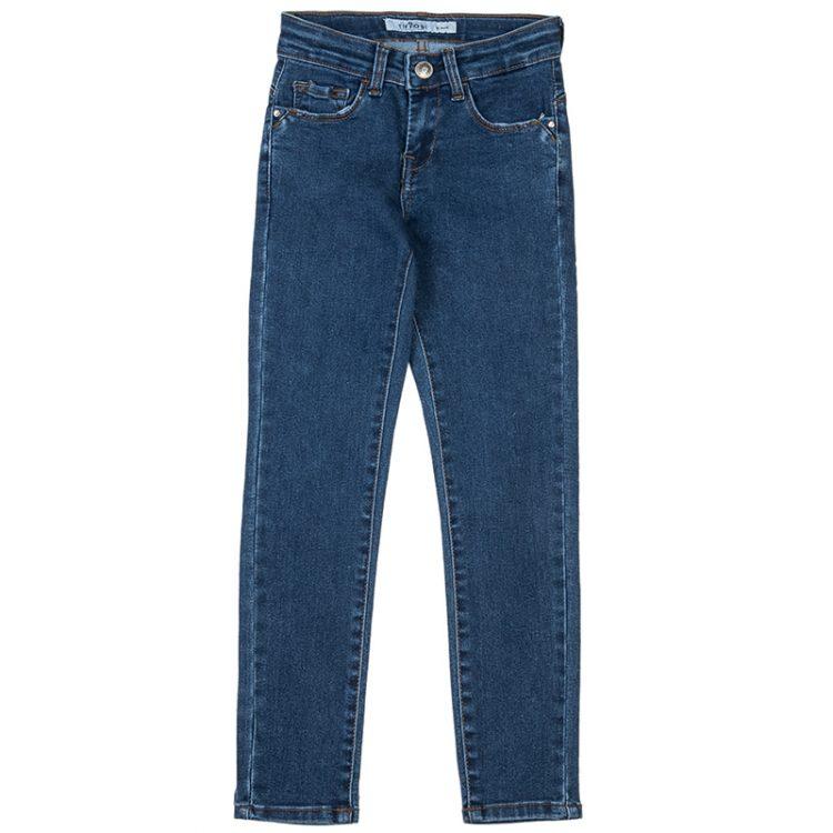 Παντελόνι τζιν (Κορίτσι 4-14 ετών) 00912740