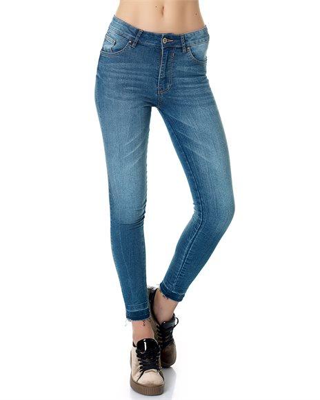 Skinny τζιν παντελόνι - MEDIUM BLUE
