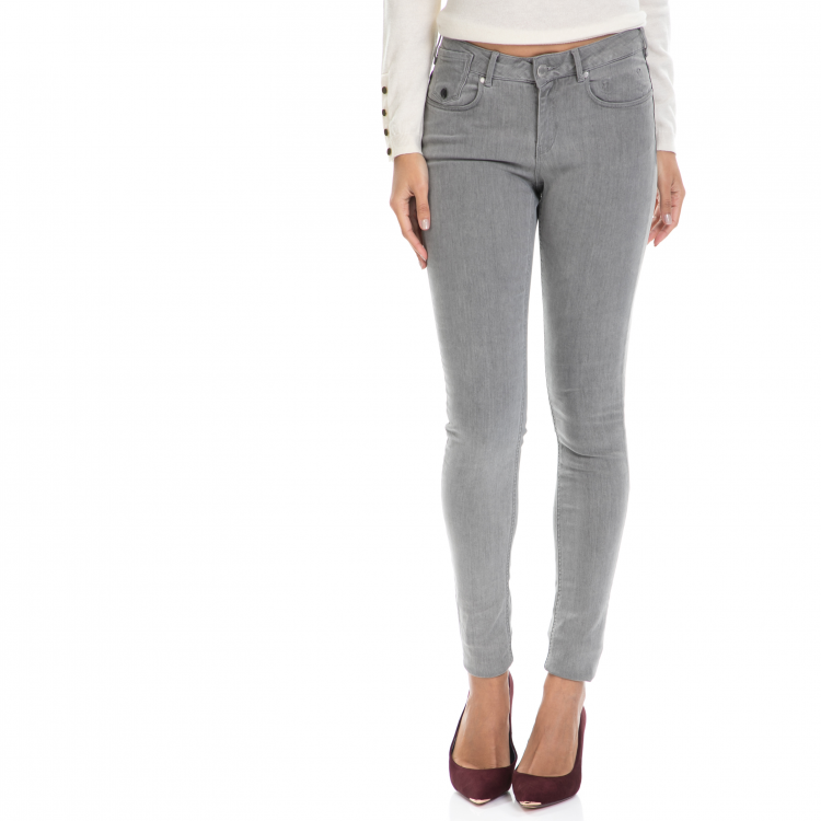 MAISON SCOTCH - Γυναικείο τζιν παντελόνι La Parisienne - Marmo MAISON SCOTCH γκρι
