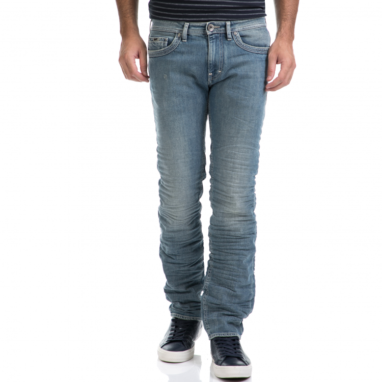 GAS - Αντρικό τζιν παντελόνι GAS μπλε
