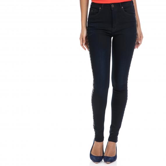 MAISON SCOTCH - Γυναικείο τζιν παντελόνι Haut - Black Mamba MAISON SCOTCH μπλε