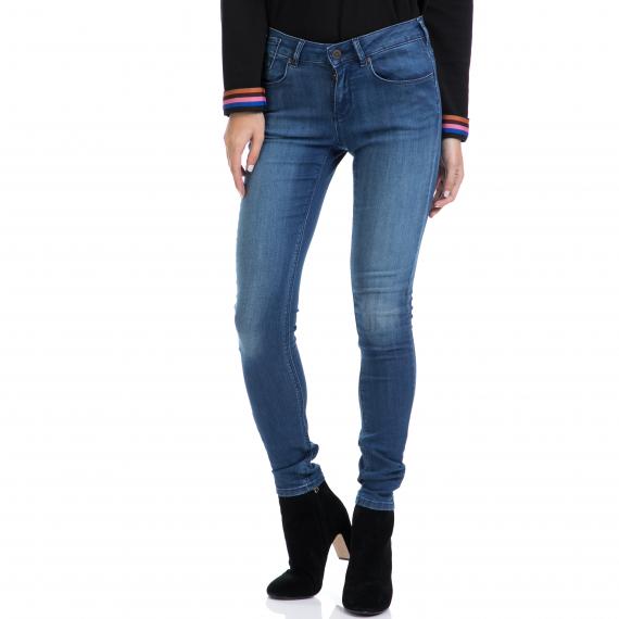 MAISON SCOTCH - Γυναικείο παντελόνι La Parisienne - Blauw Zaphir MAISON SCOTCH μπλε