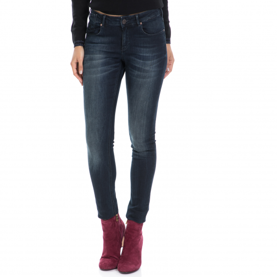 MAISON SCOTCH - Γυναικείο τζιν παντελόνι La Parisienne - Intense Beauty MAISON SCOTCH μπλε