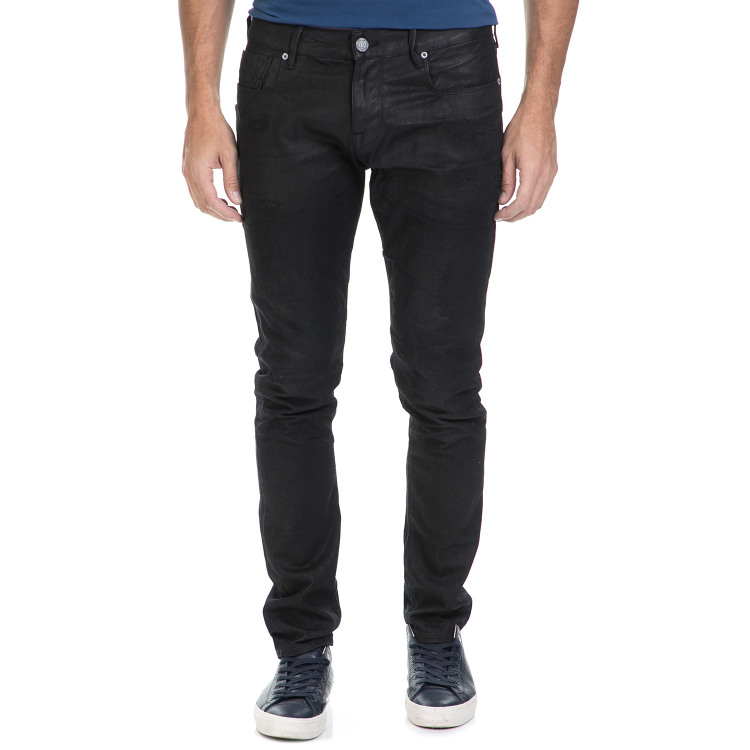 SCOTCH & SODA - Ανδρικό τζιν παντελόνι Lot 22 Tye - Stalemate SCOTCH & SODA μαύρο