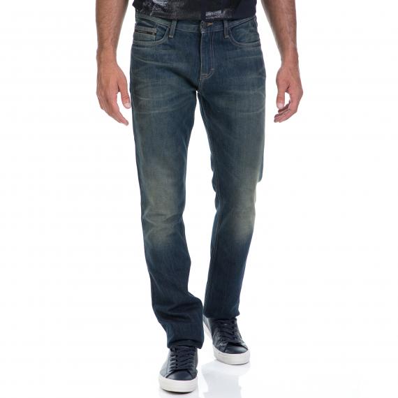 CALVIN KLEIN JEANS - Αντρικό τζιν παντελόνι CALVIN KLEIN JEANS μπλε