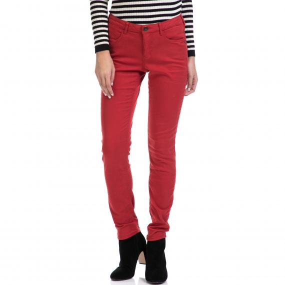MAISON SCOTCH - Γυναικείο παντελόνι La Bohemienne MAISON SCOTCH κόκκινο
