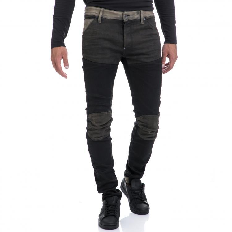 G-STAR RAW - Αντρικό παντελόνι G-STAR RAW μαύρο-γκρι