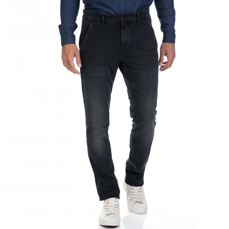 CALVIN KLEIN JEANS - Αντρικό τζιν παντελόνι CALVIN KLEIN JEANS μαύρο