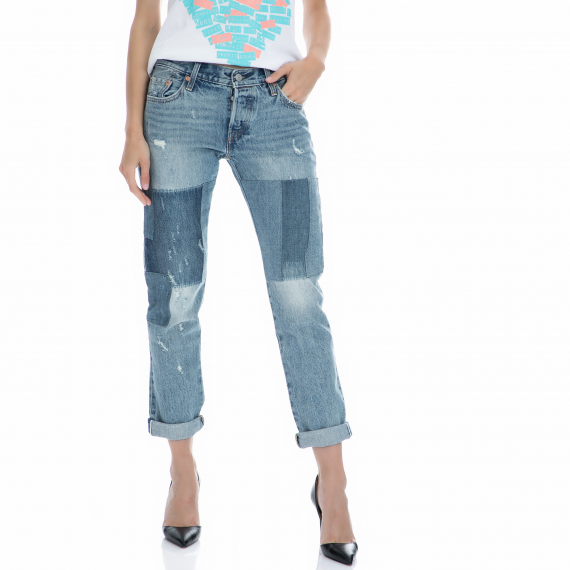 LEVI'S - Γυναικείο τζιν παντελόνι Levi's 501 μπλε