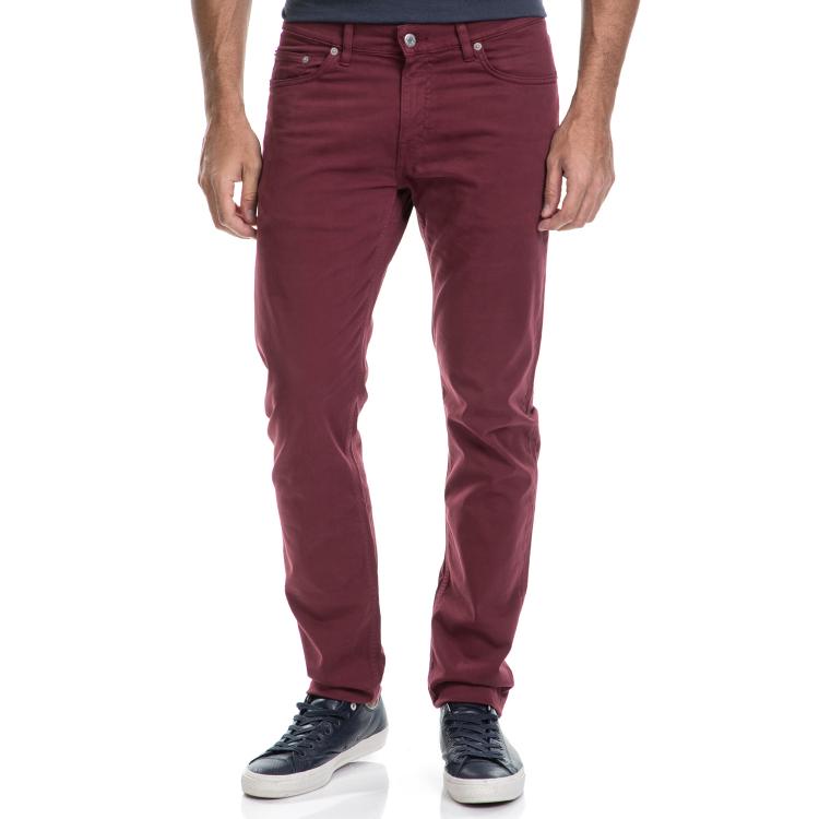 GANT - Ανδρικό τζιν παντελόνι GANT κόκκινο