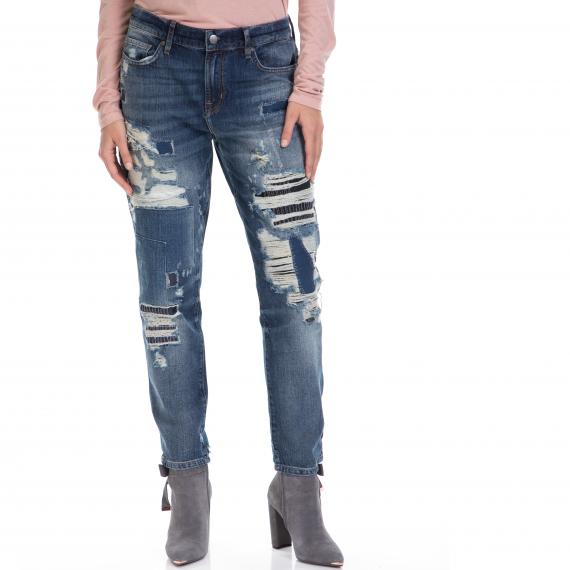 TOMMY HILFIGER - Γυναικείο τζιν παντελόνι OSLO TOMMY HILFIGER μπλε