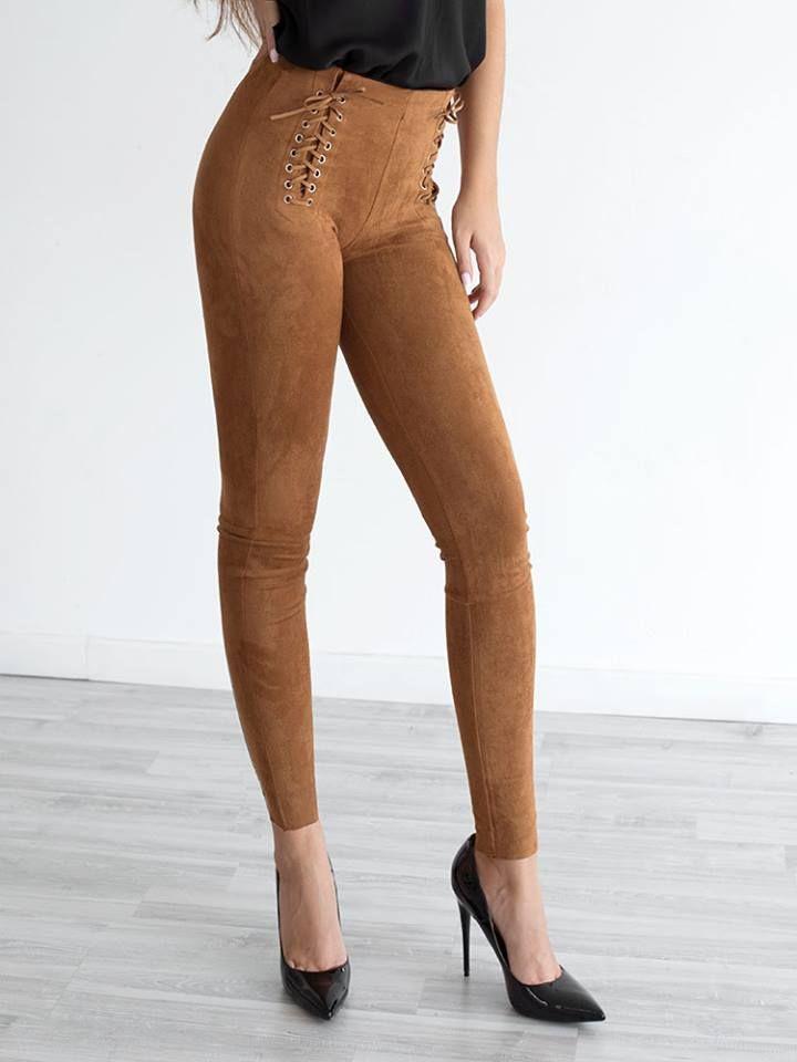 VANESSA CAMEL PANTS 2
