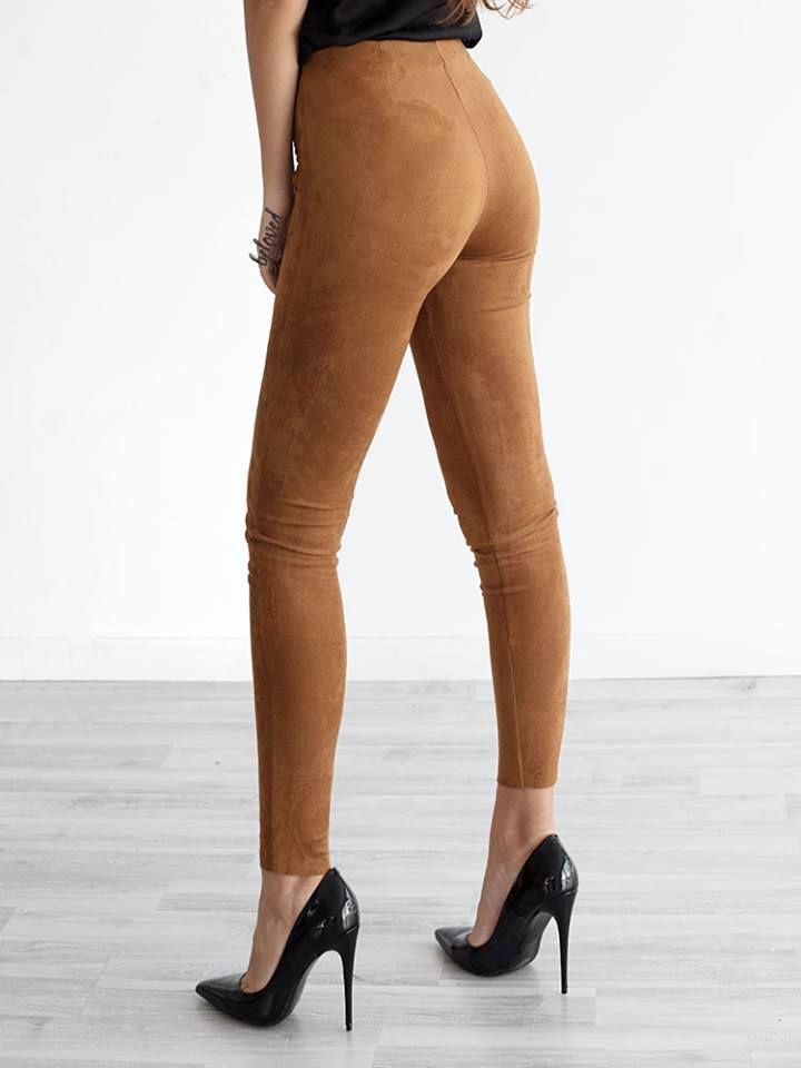 VANESSA CAMEL PANTS 3