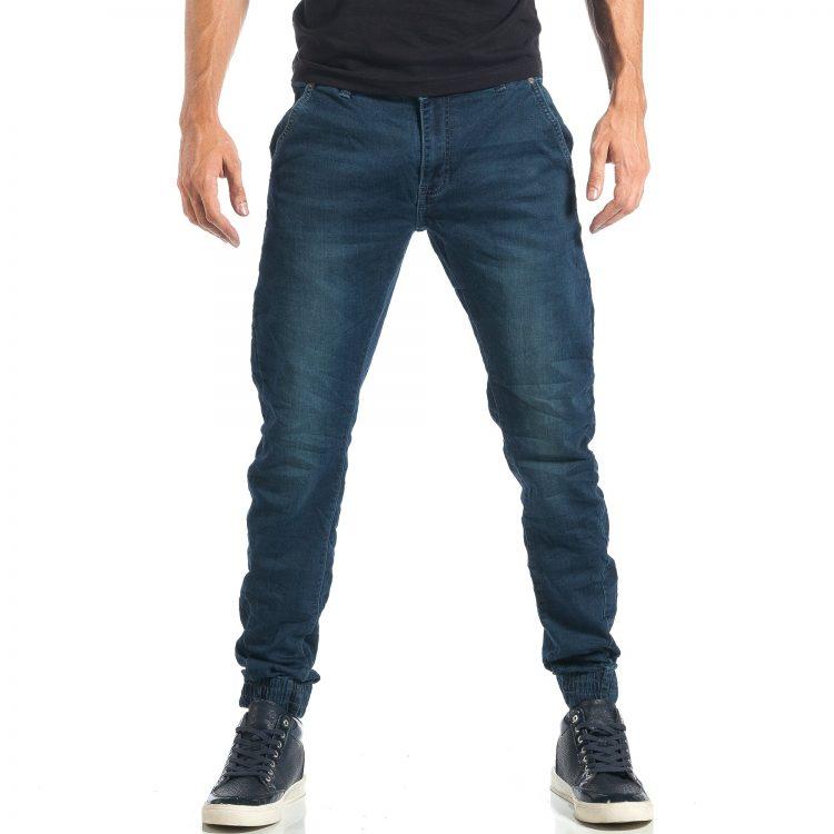 Ανδρικό γαλάζιο τζιν Accross