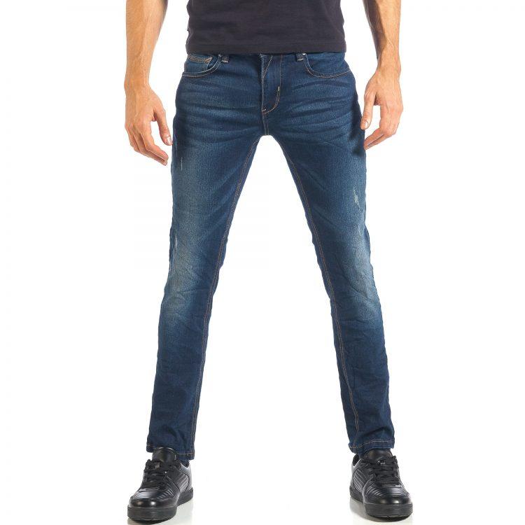 Ανδρικό γαλάζιο τζιν Fles Style