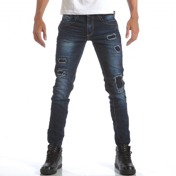 Ανδρικό γαλάζιο τζιν Leeyo Jeans