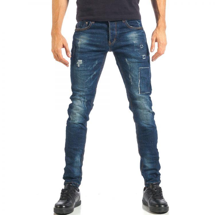 Ανδρικό γαλάζιο τζιν Y.T. Jeans