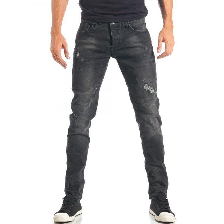 Ανδρικό γκρι τζιν Y.T. Jeans